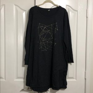 Old Navy long-sleeve nightgown
